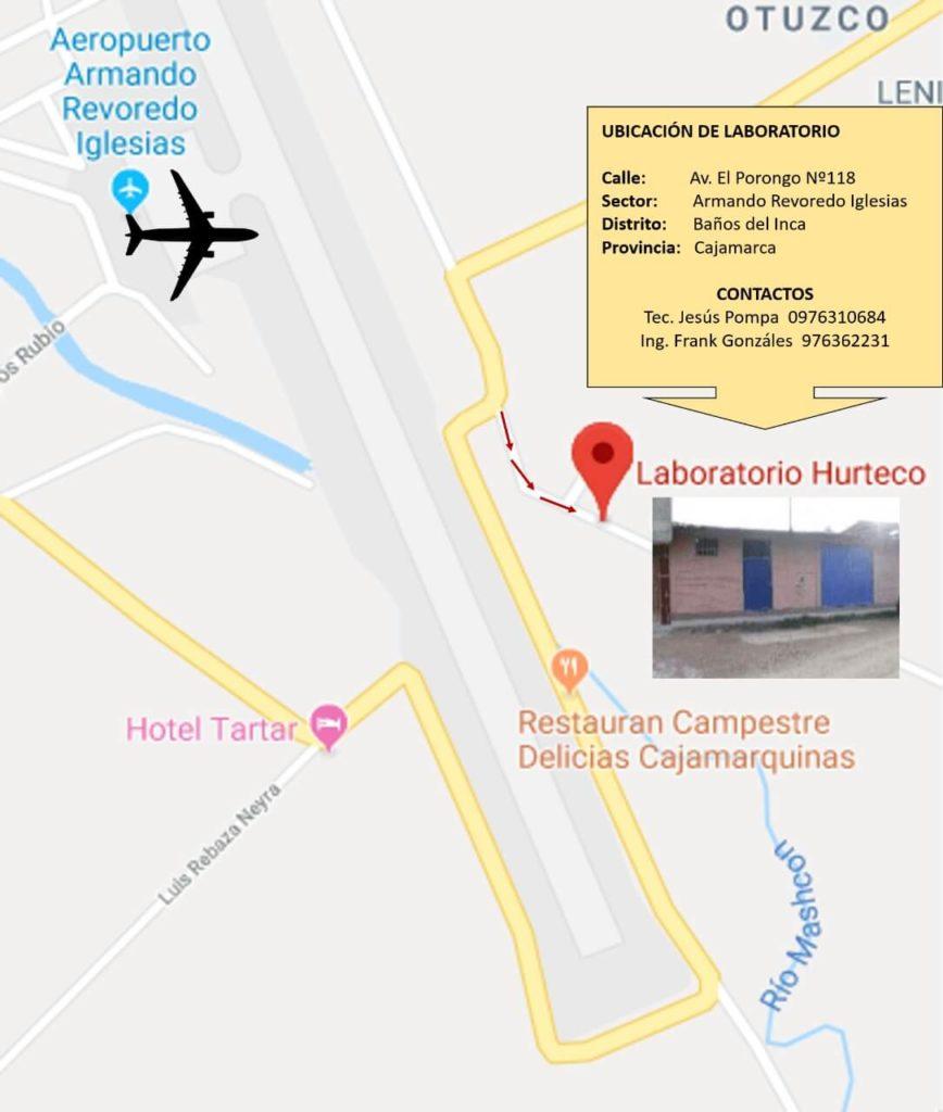 ubicación laboratorio mecánica de suelos