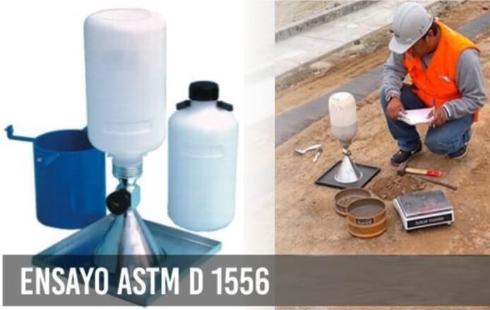 VENTA DE ARENA CALIBRADA para la ejecucion del ensayo ASTM D1556