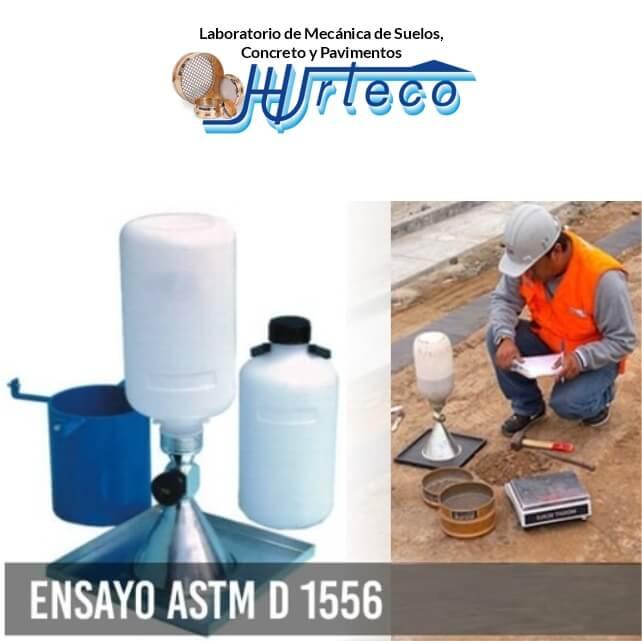 Venta de arena calibrada para ejecucion del ensayo ASTM D1556